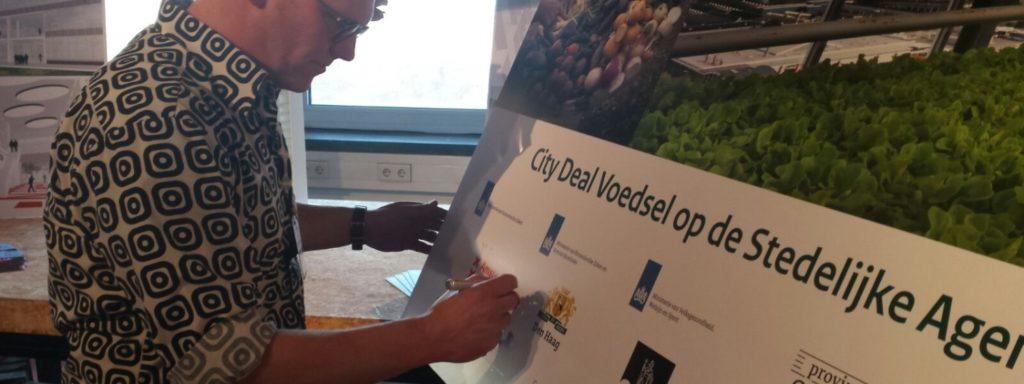 Dutch City Deal: Food on the Urban Agenda