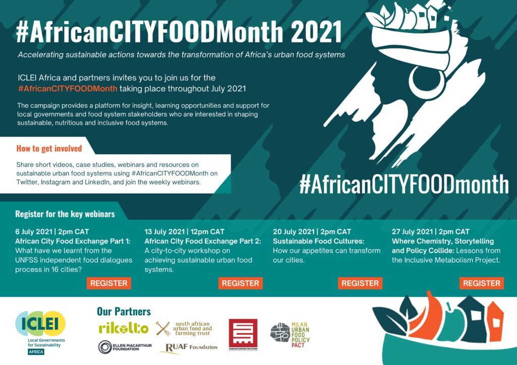 #AfricanCITYFOODmonth 2021: Join us!