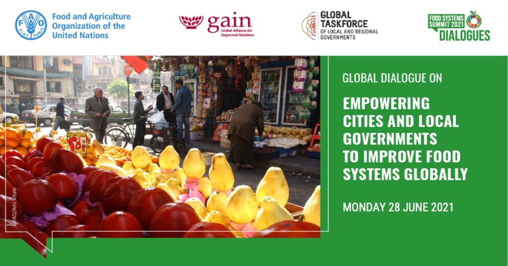 Event: Empowering Cities And Local Governments To Improve Food Systems Globally