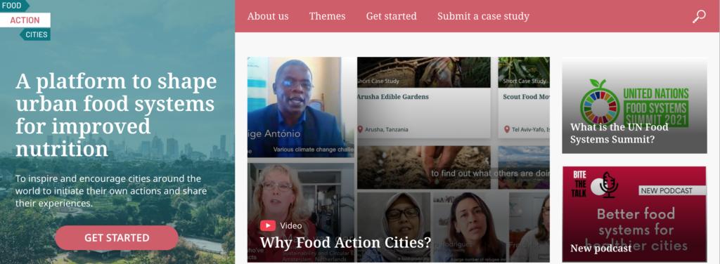 RUAF, GAIN and Milan Urban Food Policy Pact launch 'Food Action Cities'